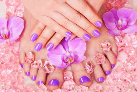 Bristol Touch of Beauty - Shellac manicure & pedicure  - Save 0%
