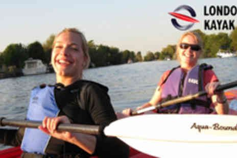 London Kayak Tours - 90 minute Regents Canal Kayak Tour for 2 - Save 50%