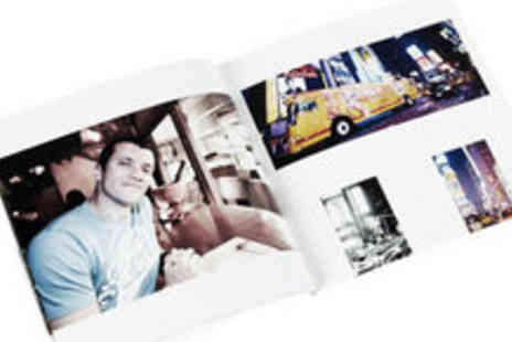 MyMemory.com - Personalised Square Photobook - Save 55%
