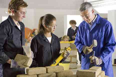 Dorset Trade Skills - Five Day Bricklaying or Hard Landscaping Course - Save 58%