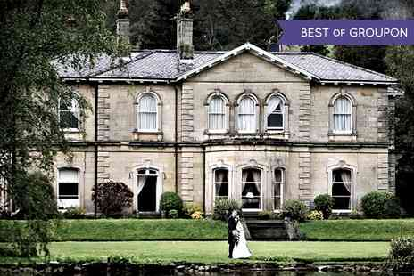 Hackness Grange Non - Wedding Package With Meal, Drinks and Buffet  - Save 56%