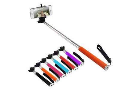 Afrapoco - Telescopic Selfie Stick for Your Smartphone  - Save 50%