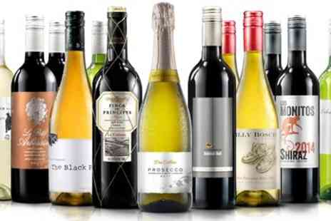 Virgin Wines Online - 12 Bottles of Wine plus Bubbly - Save 66%