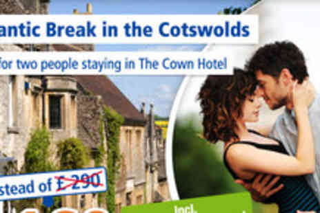 The Crown Hotel - Mini Break in stunning Gloucestershire for 2 poeple- Save 45%