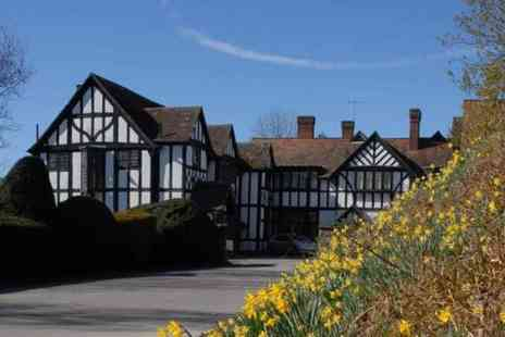 Caer Beris Manor - One night break for 2 including breakfast and a 7 course tasting menu  - Save 57%