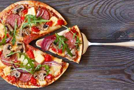 Ciao Bella - Italian meal for 2 including any pizza, pasta or risotto & a glass of wine each  - Save 64%