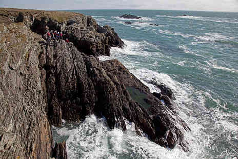 Jim Oakley Adventures - Thrtee hour coasteering experience for 1  - Save 49%