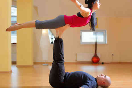 AcroYoga - Three AcroYoga Classes - Save 60%