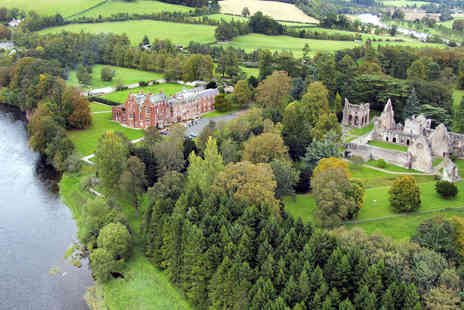 Dryburgh Abbey Hotel - One Night Stay for Two with Breakfast Daily, Wine - Save 39%