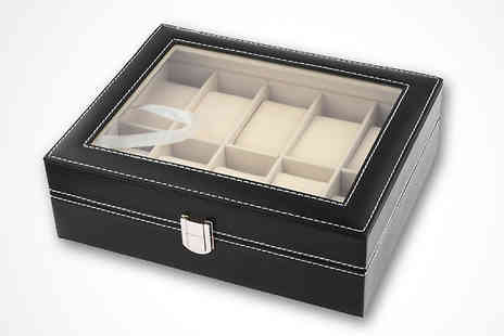 Widgetlove - 10 Slot Jewellery Display Box - Save 75%