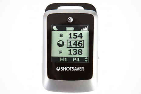 Swing Happy - Choice of Shotsaver Golf Rangefinder Delivery Included - Save 55%