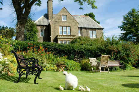 Ashmount Country House - One night luxurious Haworth break for two - Save 32%