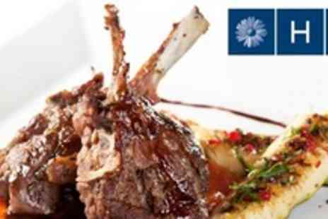 H10 London Waterloo - Three Course Mediterranean Meal With Champagne For Four - Save 61%