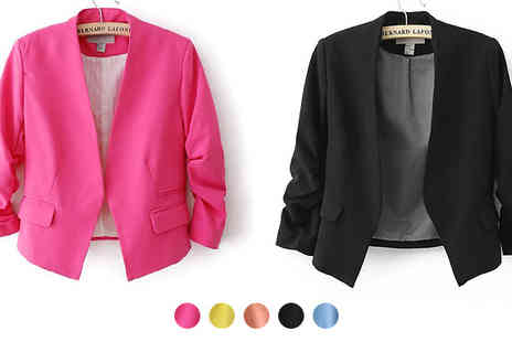 Beaches Crazy - Cropped Blazer - Save 70%
