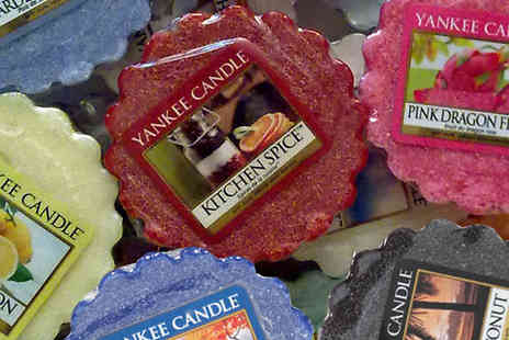 Ansell Garden Centre - Set of 5 Yankee Candle Wax Melts - Save 46%