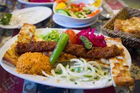 Turkish bar and grill - Two Courses For Two  - Save 50%