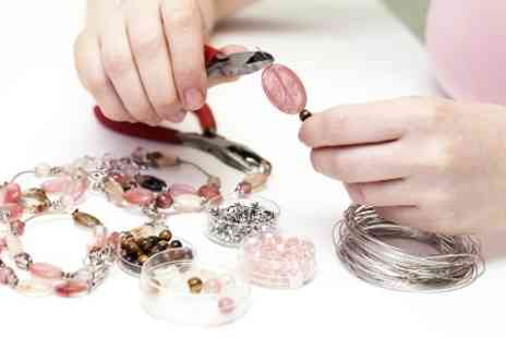 The Number 1 Bead Shop - Choice of Two Hour Jewellery Making Classes - Save 60%