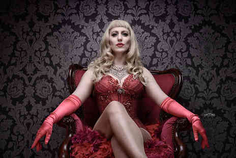 WHQ - Two tickets to a burlesque and cabaret show on Friday 24th April including club entry  - Save 50%