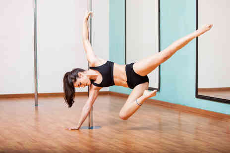 Studio Stellar - Four 1 hour pole fitness classes  - Save 63%