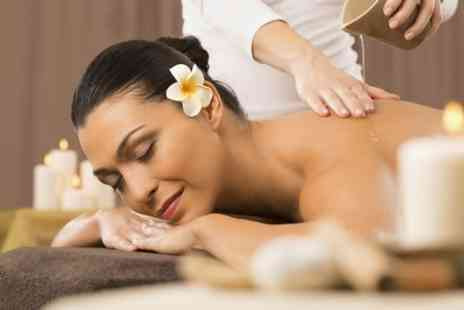 Glowing Salon - One Hour Massage Plus Microdermabrasion Facial - Save 53%
