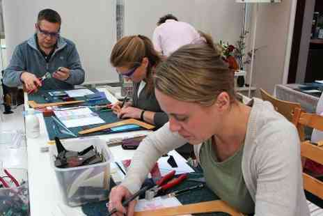 Montages - Fused Glass Course With Refreshments - Save 65%