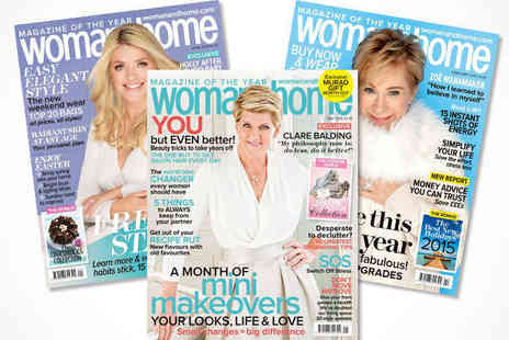 Woman and Home  - 12 Month Subscription to woman&home Magazine, Delivery Included - Save 56%