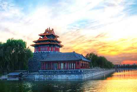China Round Trip - 15 day round trip of China with flights including meals and more - Save 55%