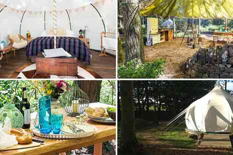 Cambo Estate  - Two nights stay in a cosy Snowdrop Tent with late check out - Save 48%
