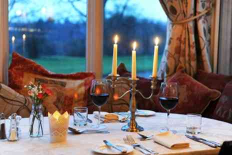 Glewstone Court Hotel -  Fabulous 2-AA Rosette Dinner & Bubbly for Two - Save 46%