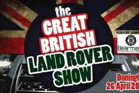 The Great British Land Rover Show - Two Adult Tickets to The Great British Land Rover - Save 50%
