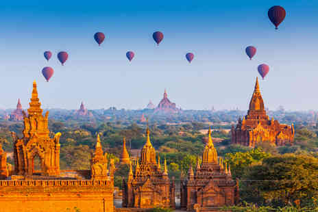 Enjoy Myanmar Holiday - Eight day guided tour of Burma including accommodation, tour guide and breakfast  - Save 49%