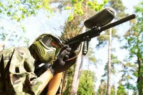 Allout Adventures - Paintballing For Five, Ten or 15 With Lunch  - Save 91%