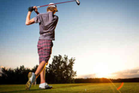 Addington Court Golf Centre - PGA Pro Golf Tuition with Video Analysis, Nine Holes and Unlimited Range Balls - Save 62%