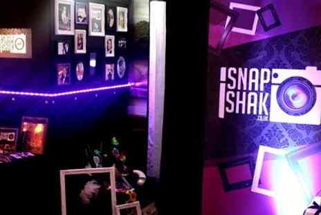 SnapShak - Three Hour Mobile Photobooth Hire With Prints - Save 62%