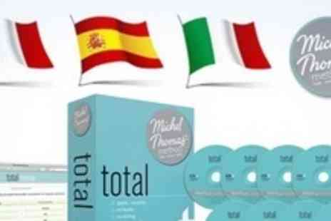Michel Thomas Method - Total Language Courses Including French, Spanish, German, or Italian - Save 61%