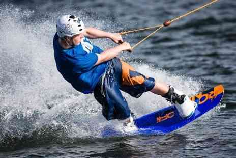 Sheffield Cable Water Ski - Two Hour Group Wakeboarding Course - Save 41%