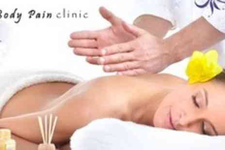 Body Pain Clinic - Choice of Massage or Therapy Treatment - Save 65%