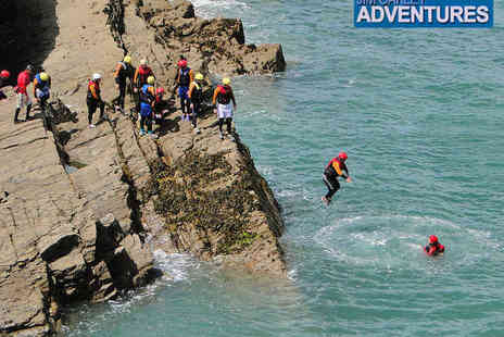 Jim Oakley Adventures - Half Day Dorset Coasteering or Outdoor Climbing Experience for One - Save 47%