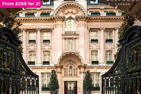 Rosewood - A Five Star Haven in High Holborn - Save 31%