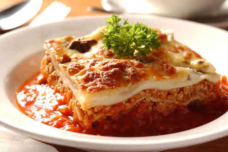 Caffe Latino - Pasta Dish Each OR Cake and Coffee Each for Two - Save 54%