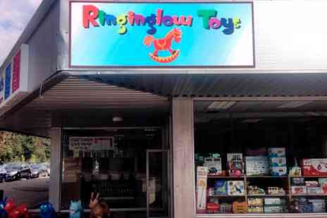 Ringinglow Toys - £20 to Spend on toys - Save 50%