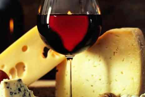 23 Grosvenor Gardens - Cheese Platter and Bottle of Wine For Two - Save 46%