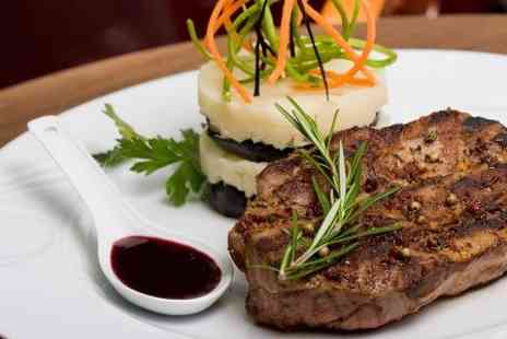 Old Barn Steakhouse - 8oz Sirloin With Sauce and Sides For Two - Save 48%