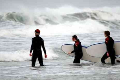 Longjohns Surf Academy - 90 minute Surfing Lesson For One  - Save 47%