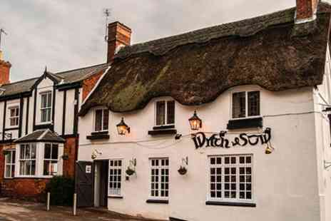 The Witch & Sow - Two Courses With Wine For Two  - Save 31%
