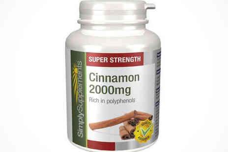 120 Cinnamon Extract Tablets - Cinnamon 2000mg Delivery Included - Save 53%