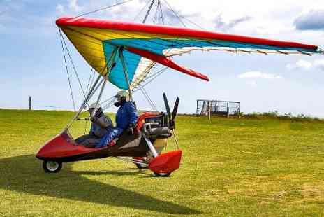 Wiltshire Microlights Centre - Microlight Flying Lesson  - Save 50%