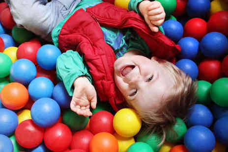 Happy Monsters - Soft Play Centre Entry with a Meal Each for Two - Save 51%