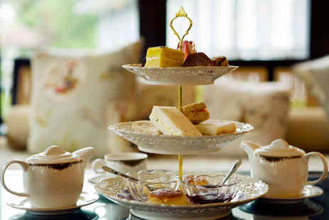 The Regency Hotel - Afternoon Tea and Leisure Pass for Two  - Save 57%