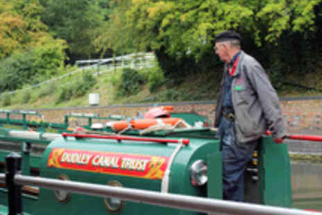 Dudley Canal Trust - Canal Boat Trip with Cream Tea for Two - Save 39%
